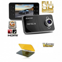 Camera auto DVR Full HD 1080p + Parasolar de condus noaptea HD Vision